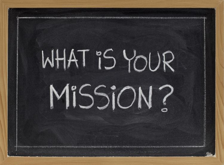 bigstock what is your mission 8338738